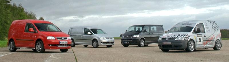 Volkswagen Caddy TDI: závodní dodávka na start: - fotka 1
