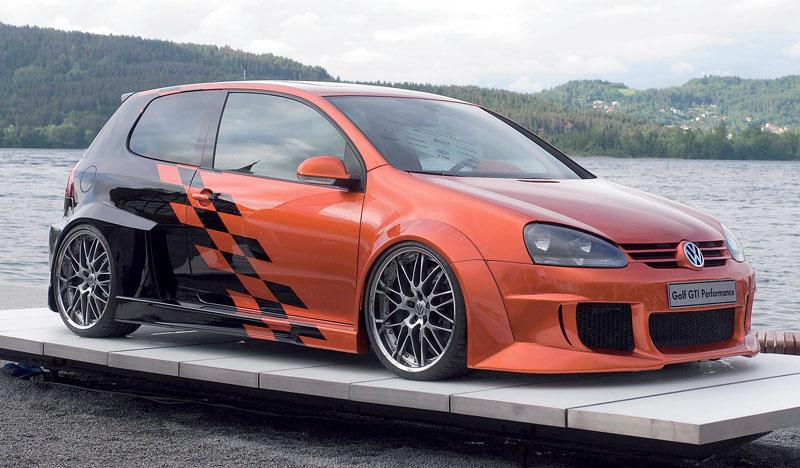 VW Golf GTI Performance Study na Wörthersee 2008: - fotka 4