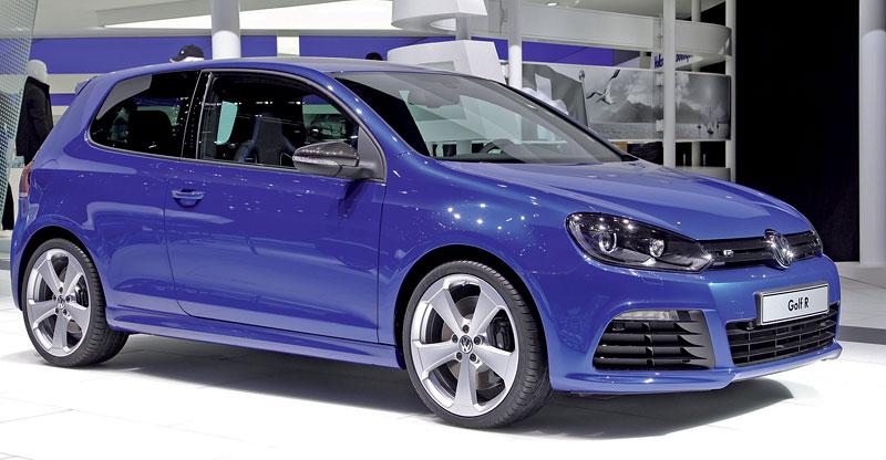 Ženeva 2011: Volkswagen Golf R - čtyři  nové verze: - fotka 12