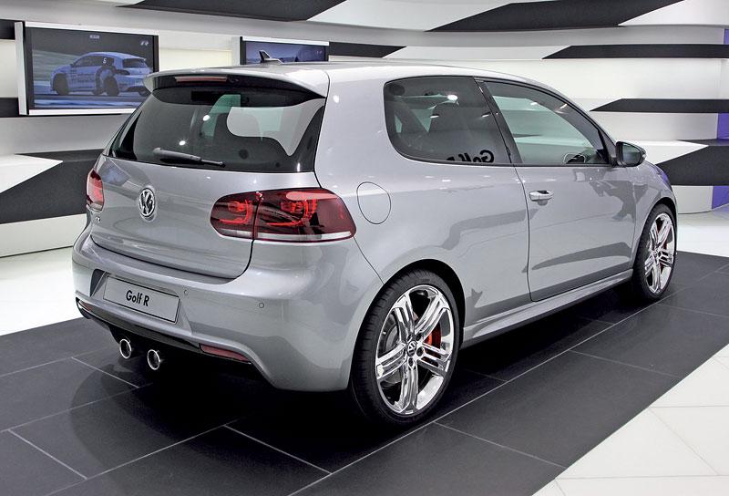 Ženeva 2011: Volkswagen Golf R - čtyři  nové verze: - fotka 14