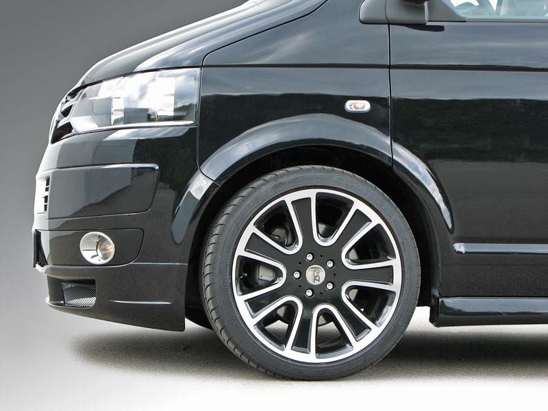 Volkswagen T5: sportovnější vzhled pro populární dodávku: - fotka 3