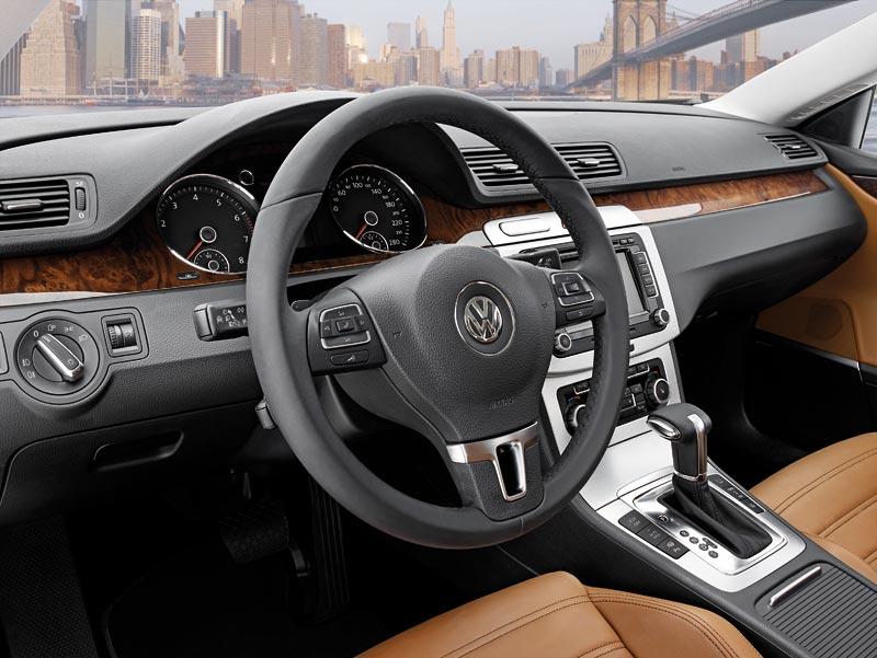Detroit 2008: Volkswagen Passat CC Four-Door Coupé: - fotka 2