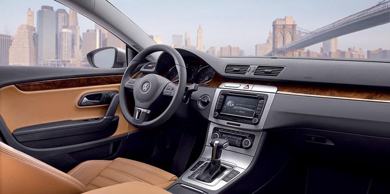 Volkswagen Passat CC nově jako pětimístný: - fotka 4