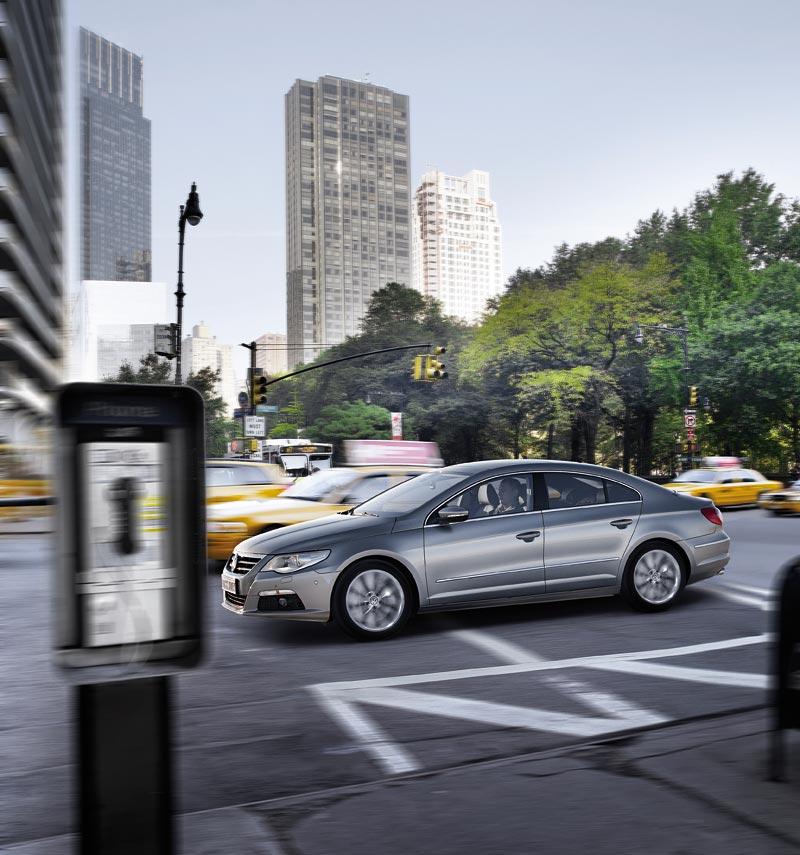 Detroit 2008: Volkswagen Passat CC Four-Door Coupé: - fotka 7