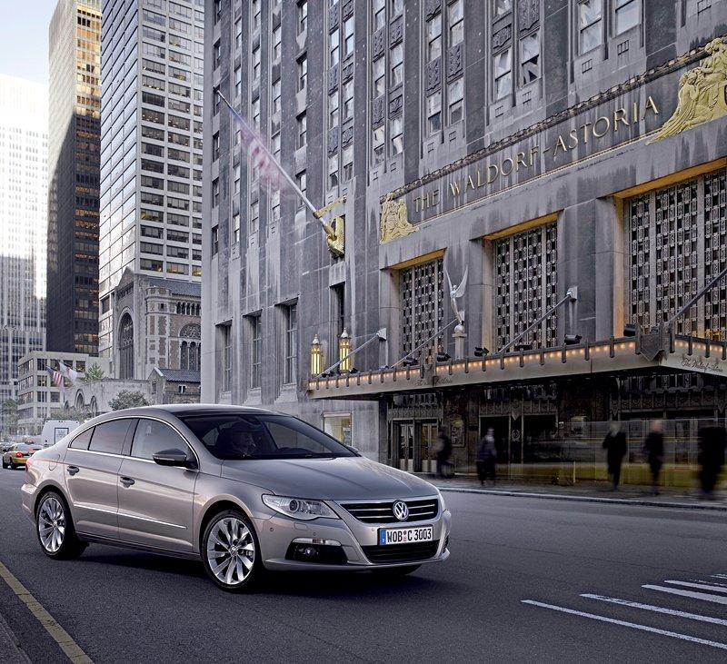 Volkswagen Passat CC nově jako pětimístný: - fotka 17