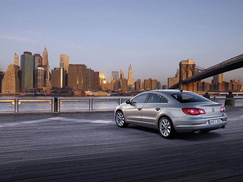 Detroit 2008: Volkswagen Passat CC Four-Door Coupé: - fotka 11