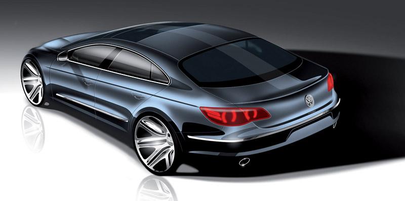 Volkswagen Passat CC nově jako pětimístný: - fotka 47