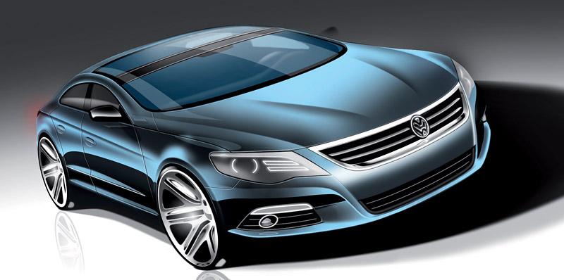 Volkswagen Passat CC nově jako pětimístný: - fotka 48