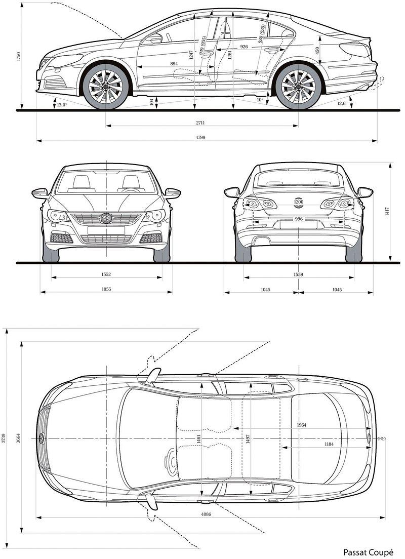 Volkswagen Passat CC nově jako pětimístný: - fotka 49