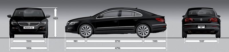 Volkswagen Passat CC nově jako pětimístný: - fotka 52