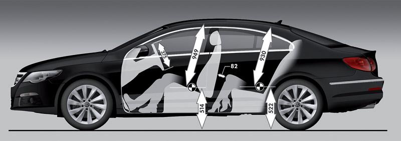 Volkswagen Passat CC nově jako pětimístný: - fotka 53