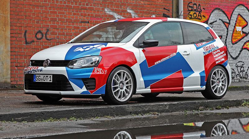 Volkswagen Polo R WRC: 420 koní od Wimmer RS: - fotka 1