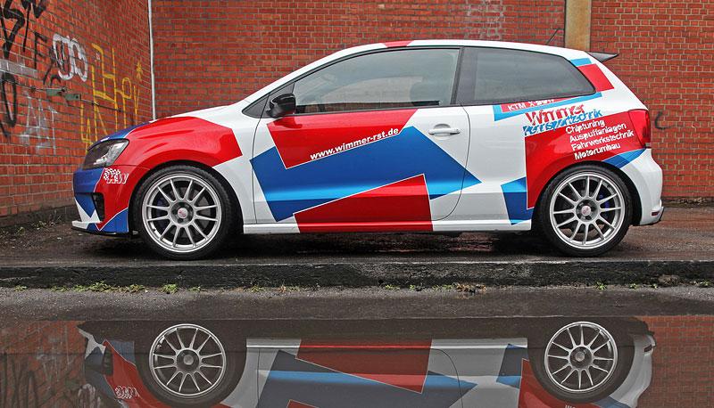 Volkswagen Polo R WRC: 420 koní od Wimmer RS: - fotka 5