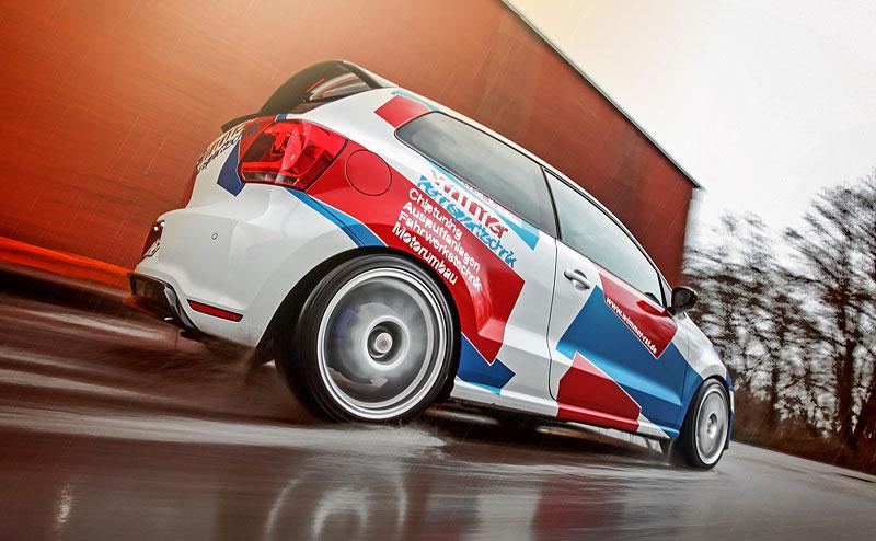 Volkswagen Polo R WRC: 420 koní od Wimmer RS: - fotka 8