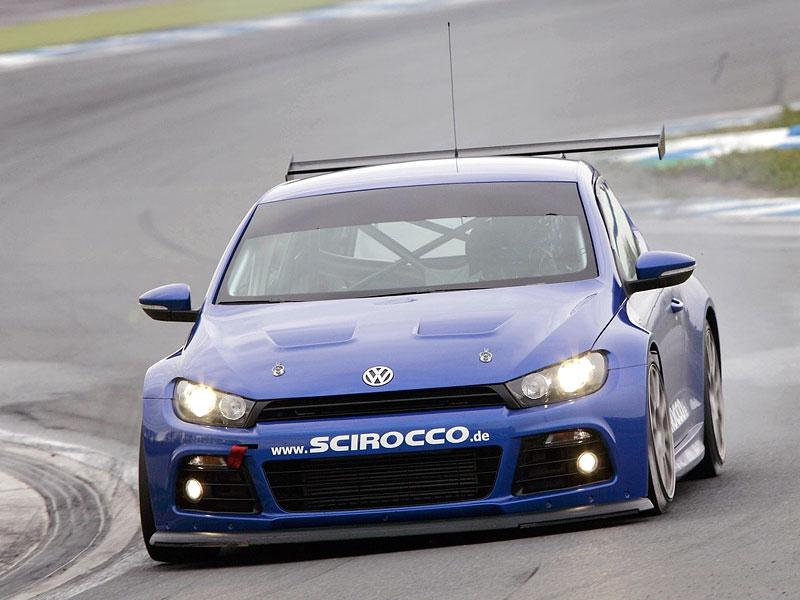 VW Scirocco se připravuje na 24 hodin na Nürburgringu - nové foto!: - fotka 3