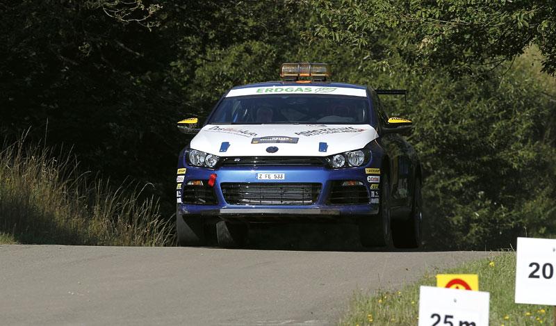 Volkswagen Scirocco fušuje už i do rallye?: - fotka 1