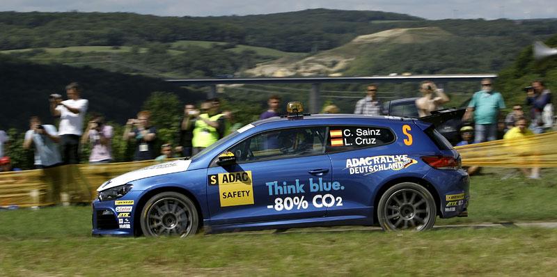 Volkswagen Scirocco fušuje už i do rallye?: - fotka 5