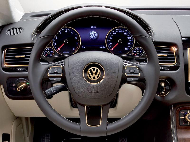 Volkswagen Touareg Gold Edition: sen katarských ropných šejků?: - fotka 1