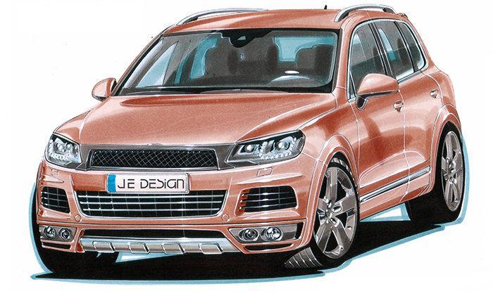 Volkswagen prý pracuje na Touaregu R... hybrid: - fotka 1
