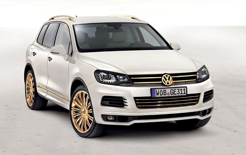 Volkswagen Touareg Gold Edition: sen katarských ropných šejků?: - fotka 5