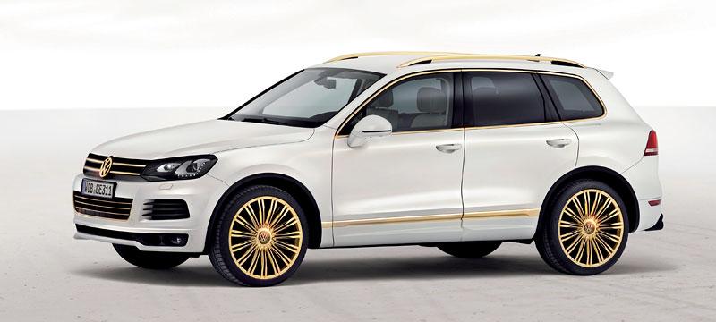 Volkswagen Touareg Gold Edition: sen katarských ropných šejků?: - fotka 6