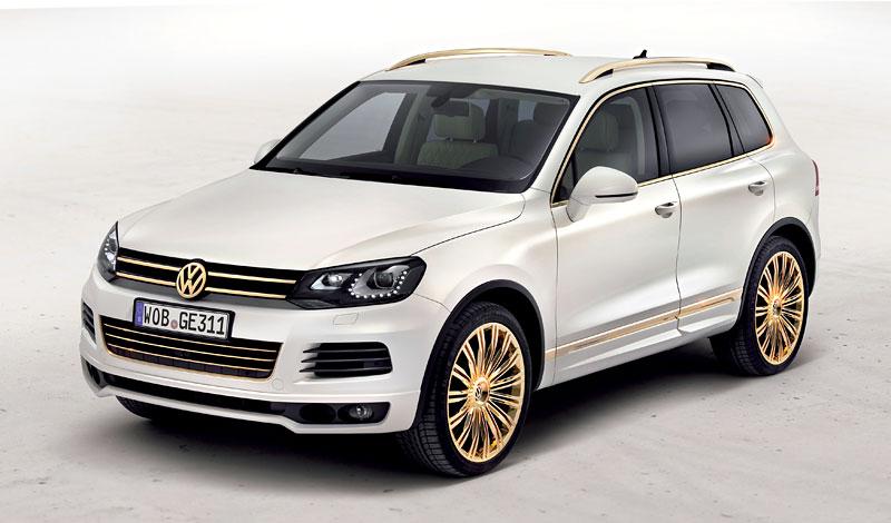 Volkswagen Touareg Gold Edition: sen katarských ropných šejků?: - fotka 7