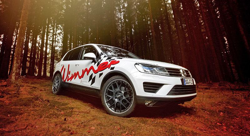 Volkswagen Touareg po lehkém ladění u Wimmer RS: - fotka 2