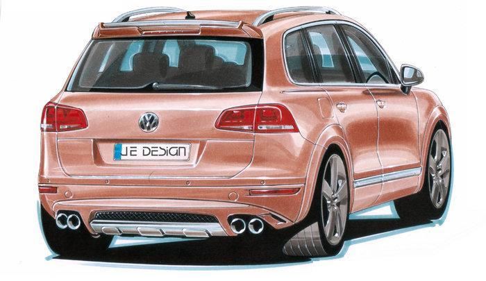 Volkswagen prý pracuje na Touaregu R... hybrid: - fotka 2
