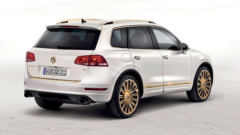 Volkswagen Touareg Gold Edition: sen katarských ropných šejků?: - fotka 8