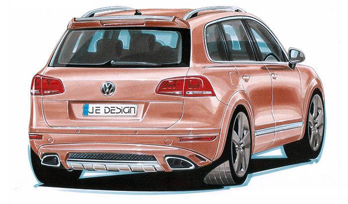 Volkswagen prý pracuje na Touaregu R... hybrid: - fotka 3