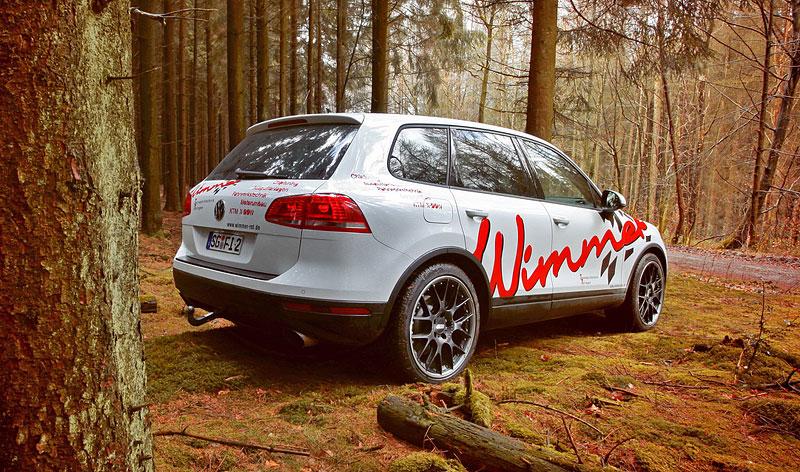 Volkswagen Touareg po lehkém ladění u Wimmer RS: - fotka 6