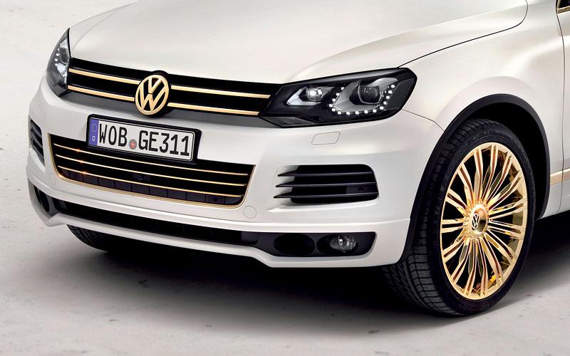 Volkswagen Touareg Gold Edition: sen katarských ropných šejků?: - fotka 9