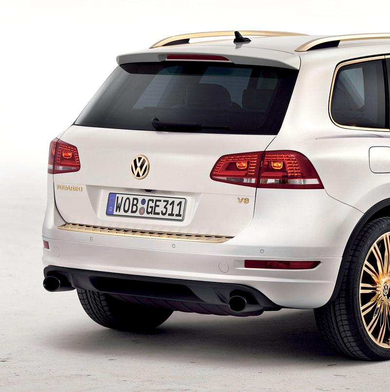 Volkswagen Touareg Gold Edition: sen katarských ropných šejků?: - fotka 10