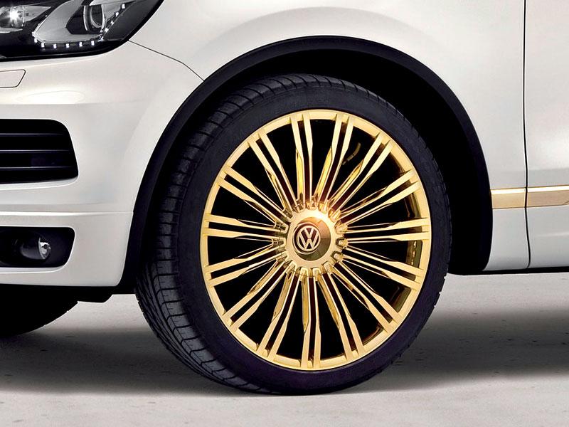 Volkswagen Touareg Gold Edition: sen katarských ropných šejků?: - fotka 11