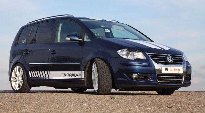 Volkswagen Touran 2.0 TDI: 223 koní od MR Car Design: - fotka 2