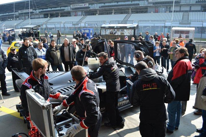 Ferrari P4/5 Competizione: první úspěšné testy na Nürburgringu: - fotka 20