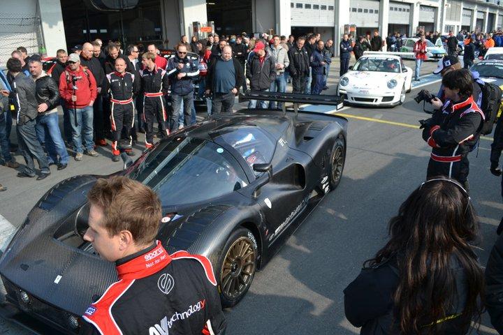 Ferrari P4/5 Competizione: první úspěšné testy na Nürburgringu: - fotka 22