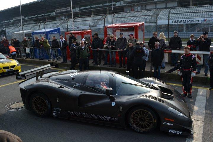 Ferrari P4/5 Competizione: první úspěšné testy na Nürburgringu: - fotka 24