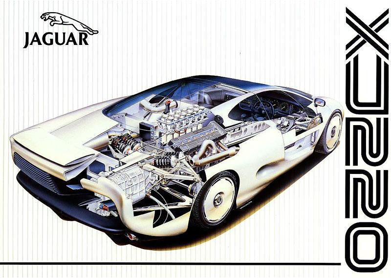 Pod lupou: Jaguar XJ220 – nejrychlejší auto světa...na jeden rok: - fotka 23
