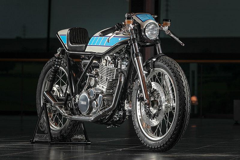 Yamaha SR400: Kompresorový café racer od Kruggera: - fotka 2