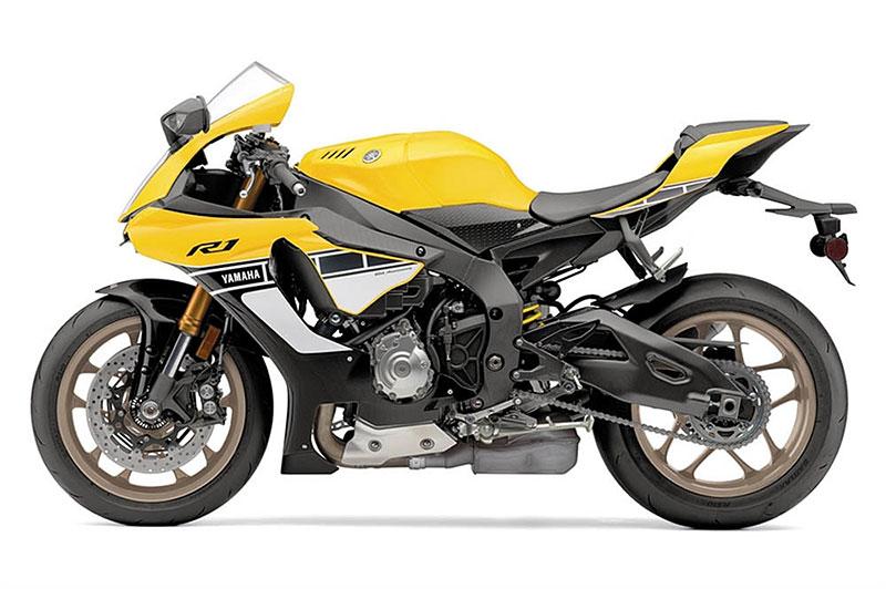 Yamaha slaví 60 let výroční R1 v retro barvách: - fotka 13