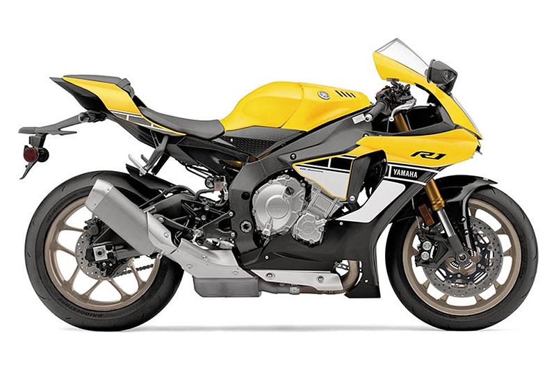 Yamaha slaví 60 let výroční R1 v retro barvách: - fotka 14