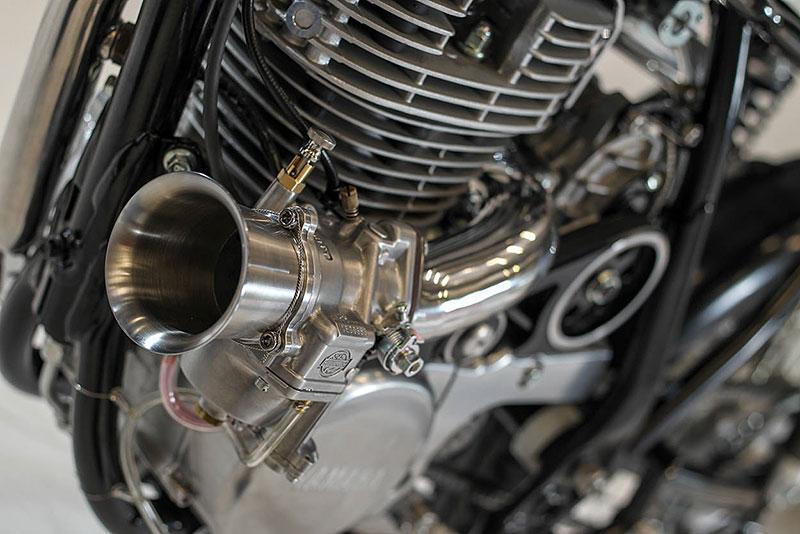 Yamaha SR400: Kompresorový café racer od Kruggera: - fotka 8