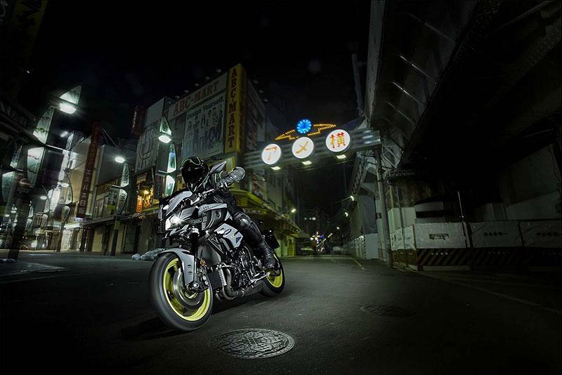 Yamaha MT-10: Super naháč pro novou sezónu (+video): - fotka 5