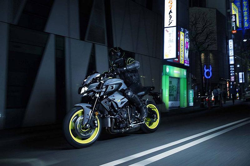 Yamaha MT-10: Super naháč pro novou sezónu (+video): - fotka 10
