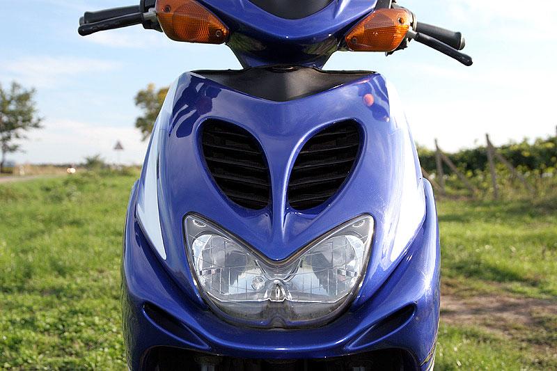 Test - Yamaha Aerox: dravec do městského provozu: - fotka 5