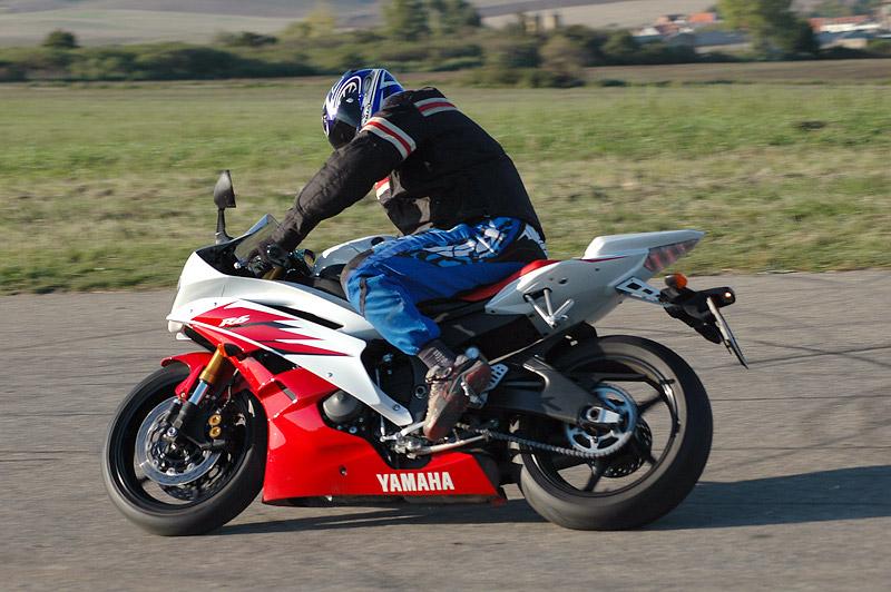 Test - Yamaha YZF R6R: - fotka 14