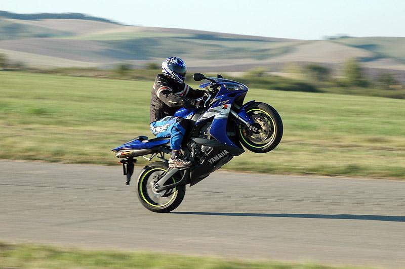 Test - Yamaha YZF R6R: - fotka 24