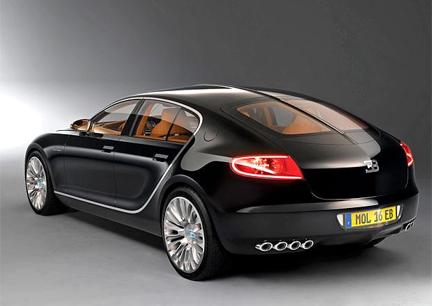 Bugatti: Čtyřdveřový model je stále ve hře