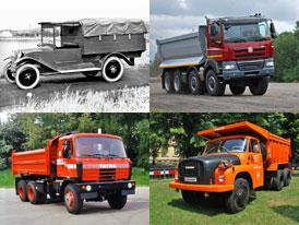 Tatra a její neslavnější nákladní vozidla z minulosti i současnosti